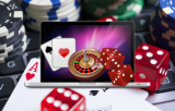 Dice cards and roulette laptop